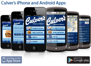 Culver's iPhone and Android Apps